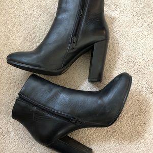 Steve Madden Black Heeled Boots